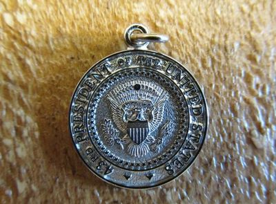 Die Struck 2 sided 43rd Seal Charm