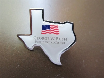 Texas Shape GWBPC Logo Pin