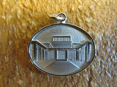 Die Struck 2 sided Library Charm
