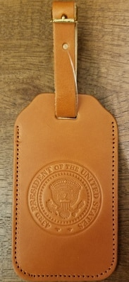 43rd Seal Luggage Tag-TAN