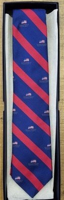 Bush Center Logo Tie