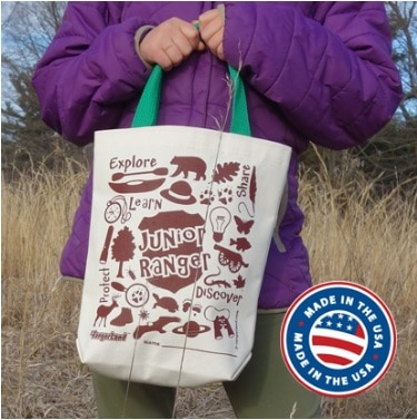 Junior Ranger Canvas Tote