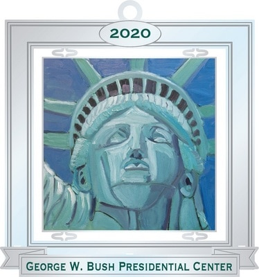 Bush Center Custom 2020 Ornament