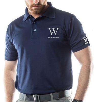 "The Bush Center ""W"" Polo"