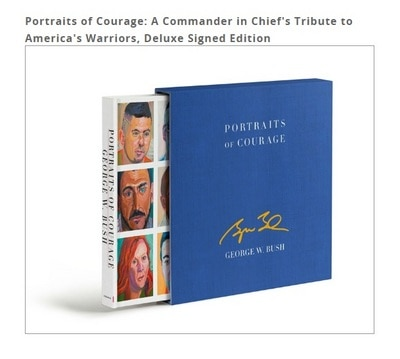 Portraits of Courage. Deluxe Edition. Signed and Personalized