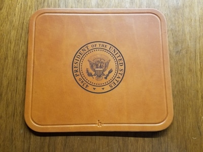 Leather 43rd Mouse Pad