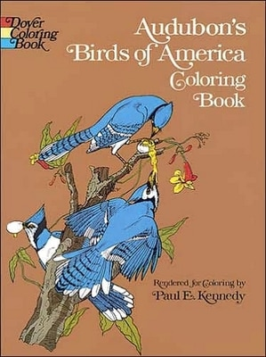 Audubon's Birds of America Coloring Book