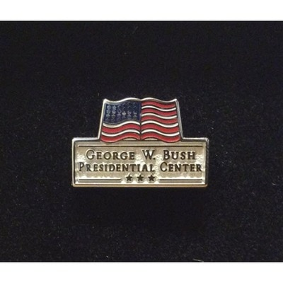 Bush Center Logo Lapel Tac