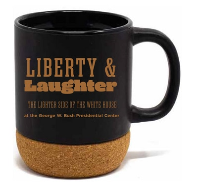 Official Online Store of The George W. Bush Presidential Center Cork Bottom Mug