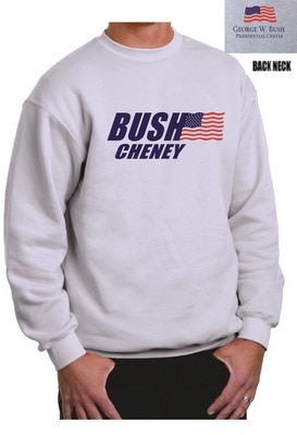 Bush Cheney Crew Sweatshirt