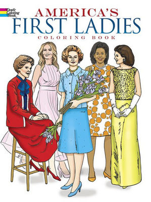 America's First Ladies, Coloring Book