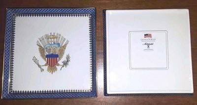 Square Eagle Plate