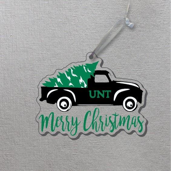 University of North Texas Ornament Truck