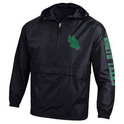 University of North Texas Champion Half-Zip Packable Jacket