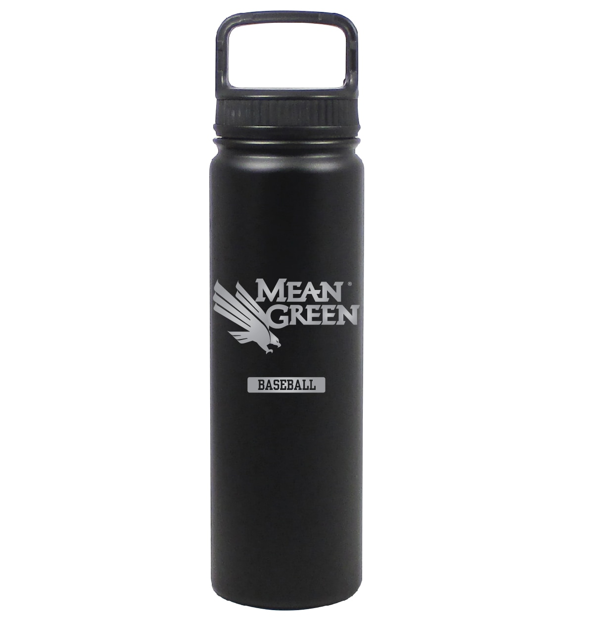 University of North Texas 24 oz Stainless Water Bottle Baseball