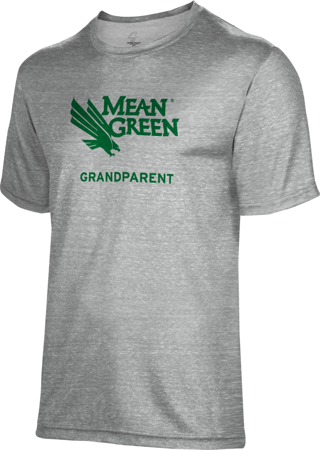 Spectrum Grandparent Unisex 50/50 Distressed Short Sleeve Tee