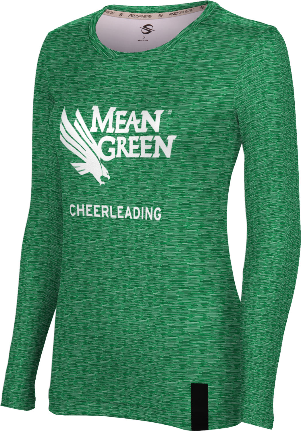 Women's ProSphere Sublimated Long Sleeve Tee - Cheerleading