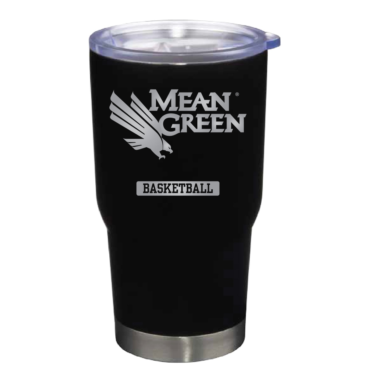University of North Texas 22 oz Stainless Travel Mug BASKETBALL