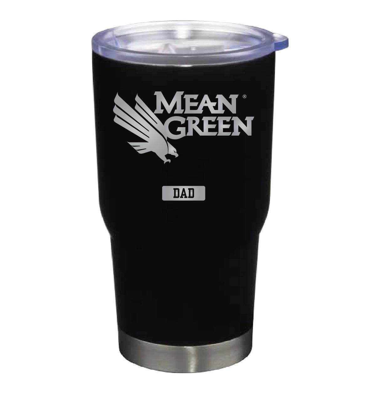 University of North Texas 22 oz Stainless Travel Mug Dad