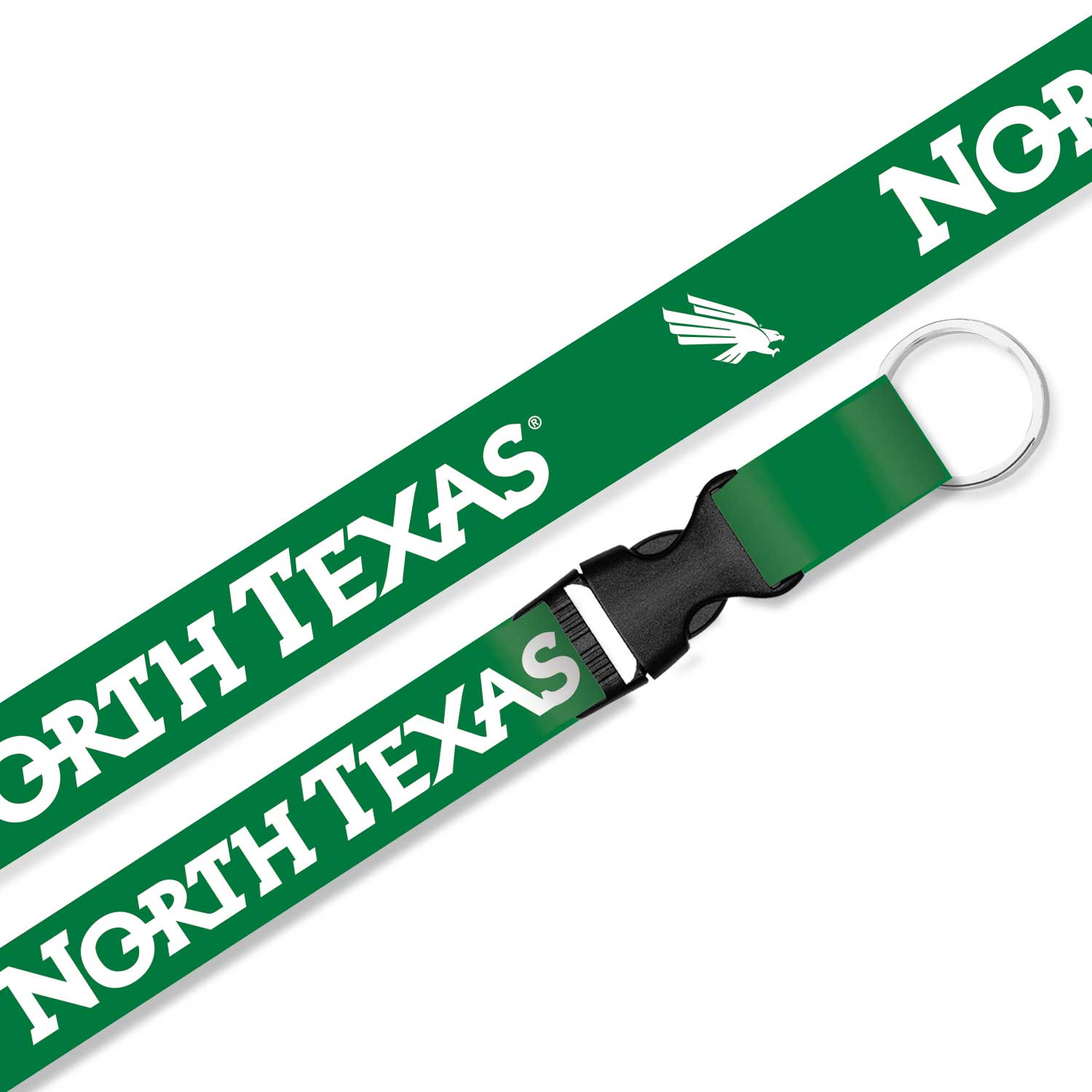 University of North Texas 3/4 Sublimated Lanyard
