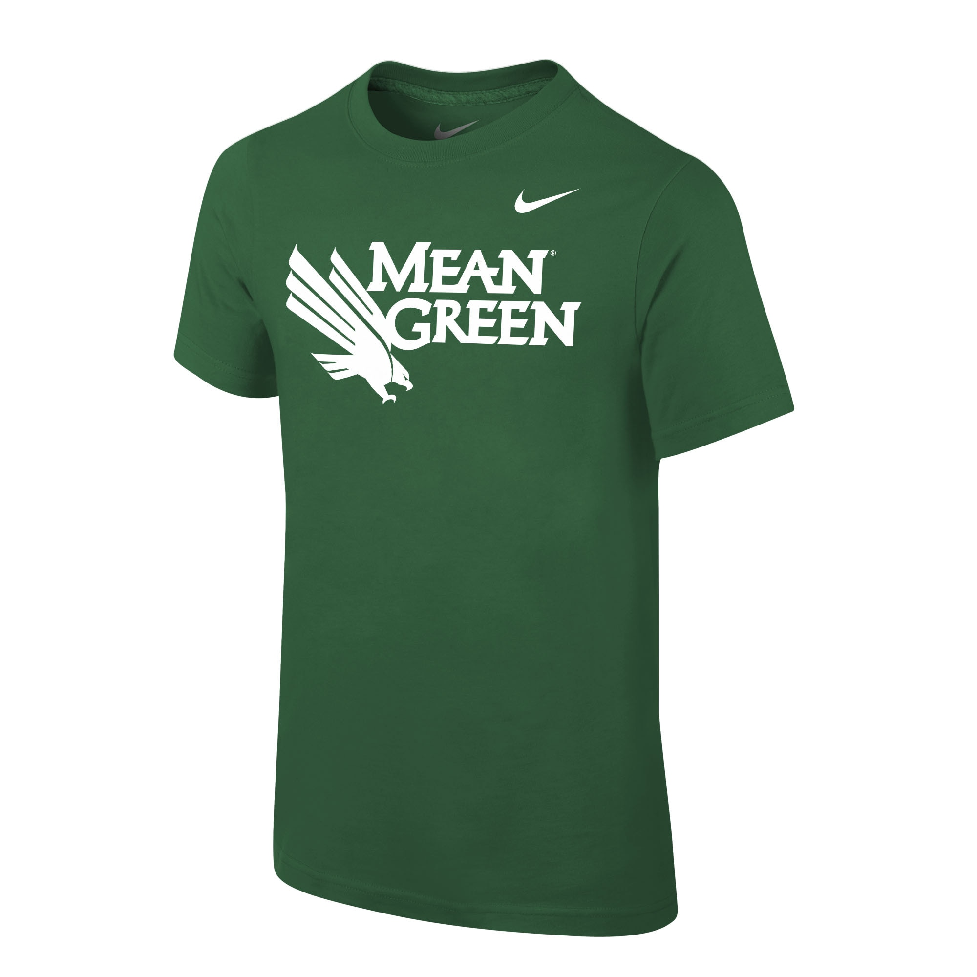 University of North Texas Nike Youth Cotton Short Sleeve T-Shirt
