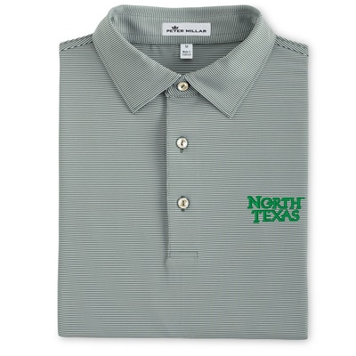 COLLEGE STRIPE STRETCH JERSEY POLO (SEAN COLLAR)