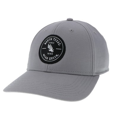 University of North Texas Legacy Washed Twill Structured Adjustable Hat
