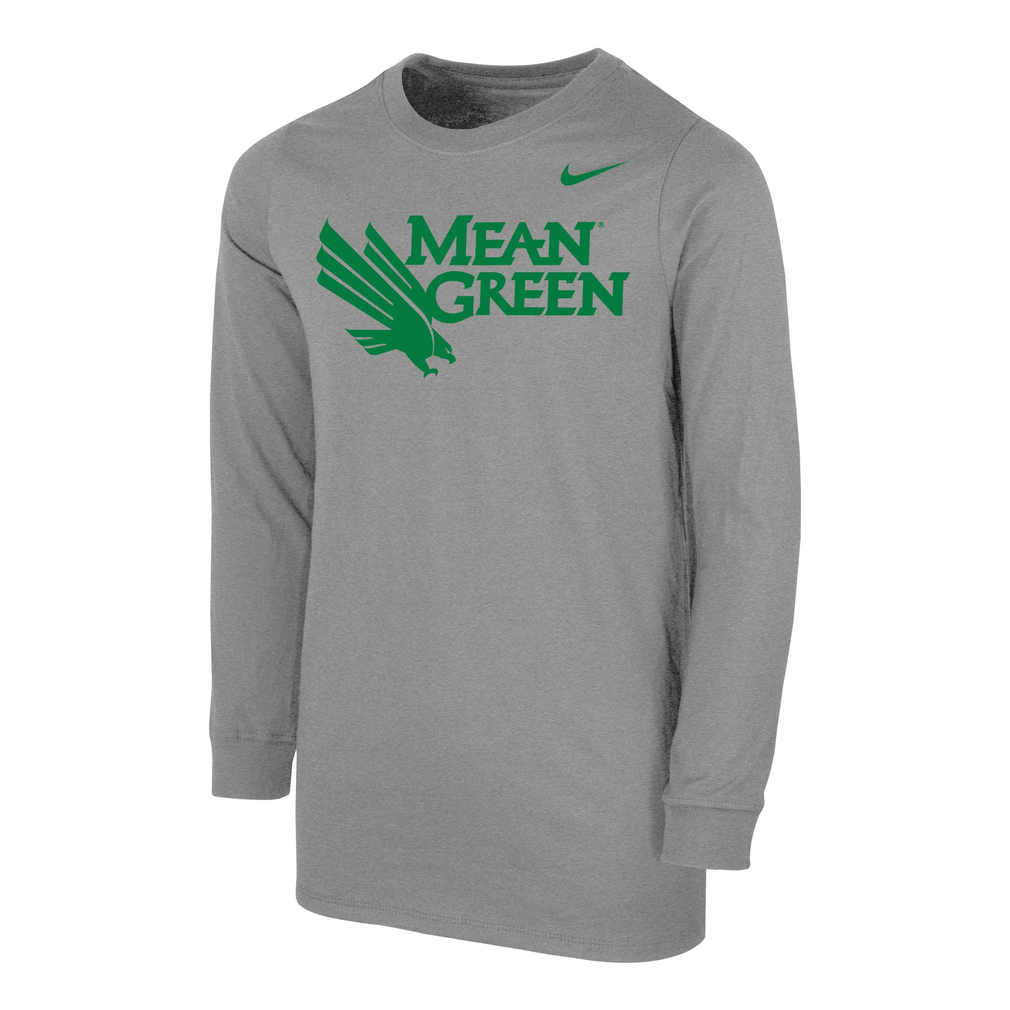 University of North Texas Nike Youth Cotton Long Sleeve T-Shirt