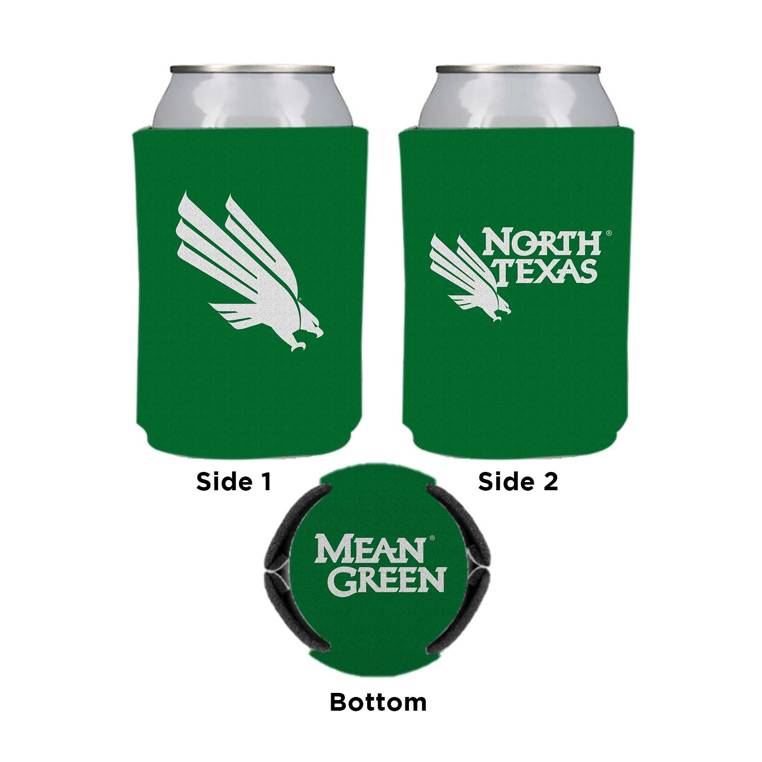University of North Texas Can Coozie