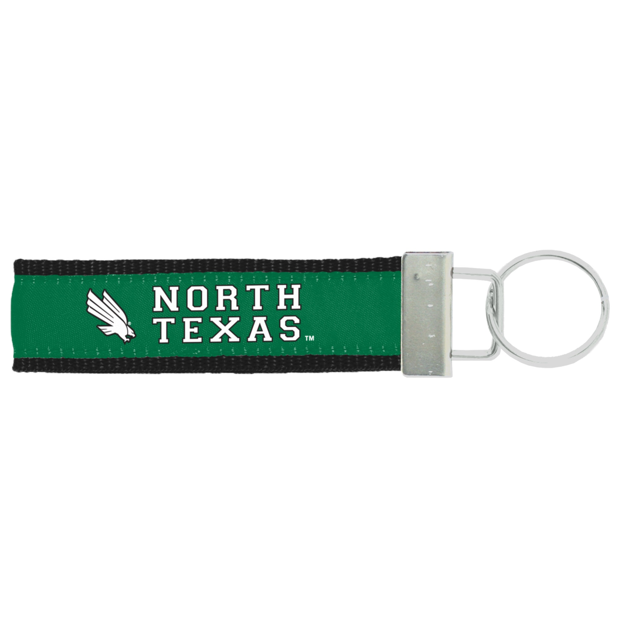 University of North Texas Winchester Woven Key strap