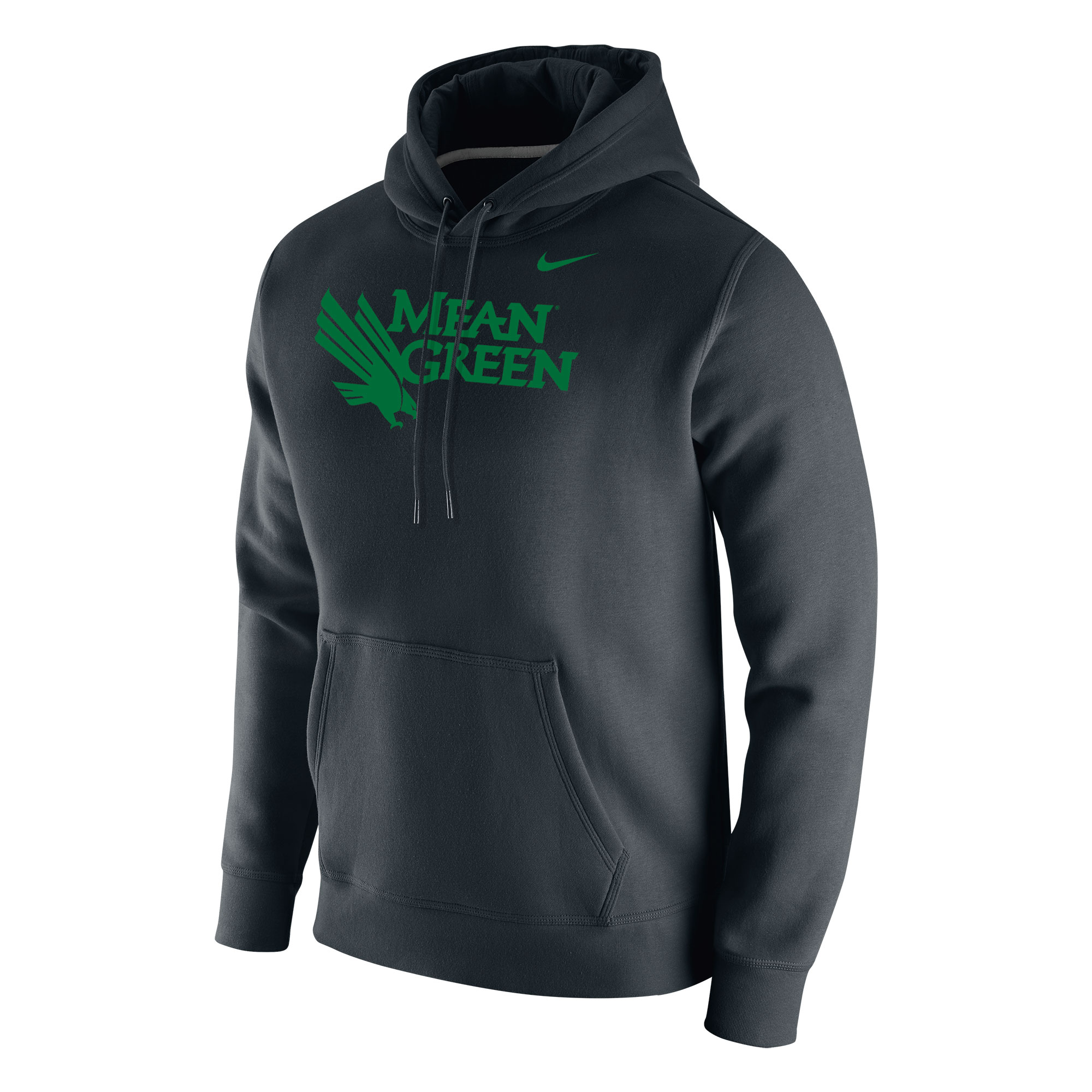 University of North Texas Nike Core Cotton Fleece Hoodie Sweatshirt