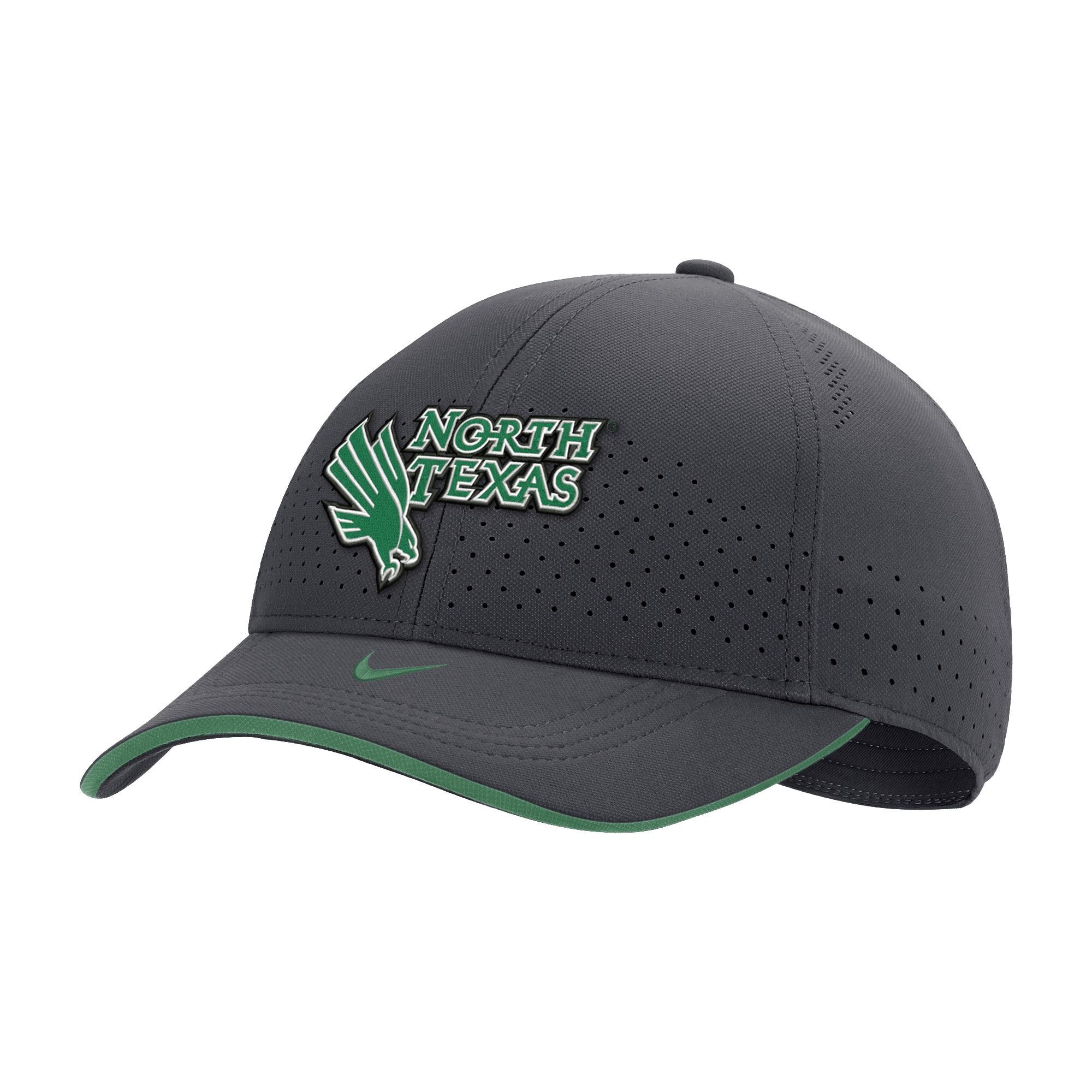 University of North Texas Nike Sideline 2020 L91 Adjustable Cap Hat
