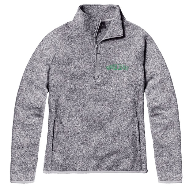 University of North Texas League Saranac Quarter Zip Jacket