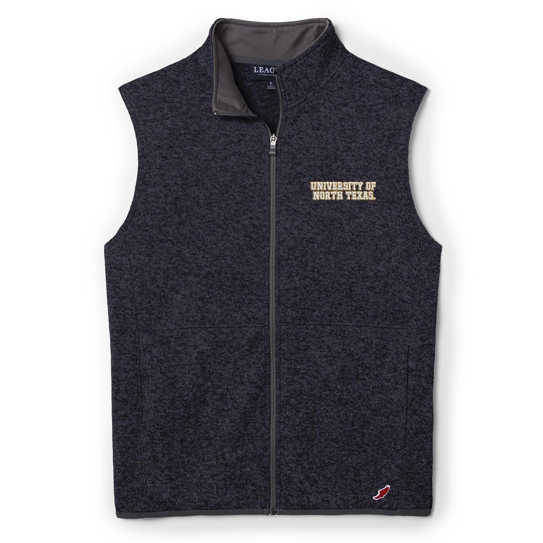 University of North Texas League Saranac Sweaterfleece Vest