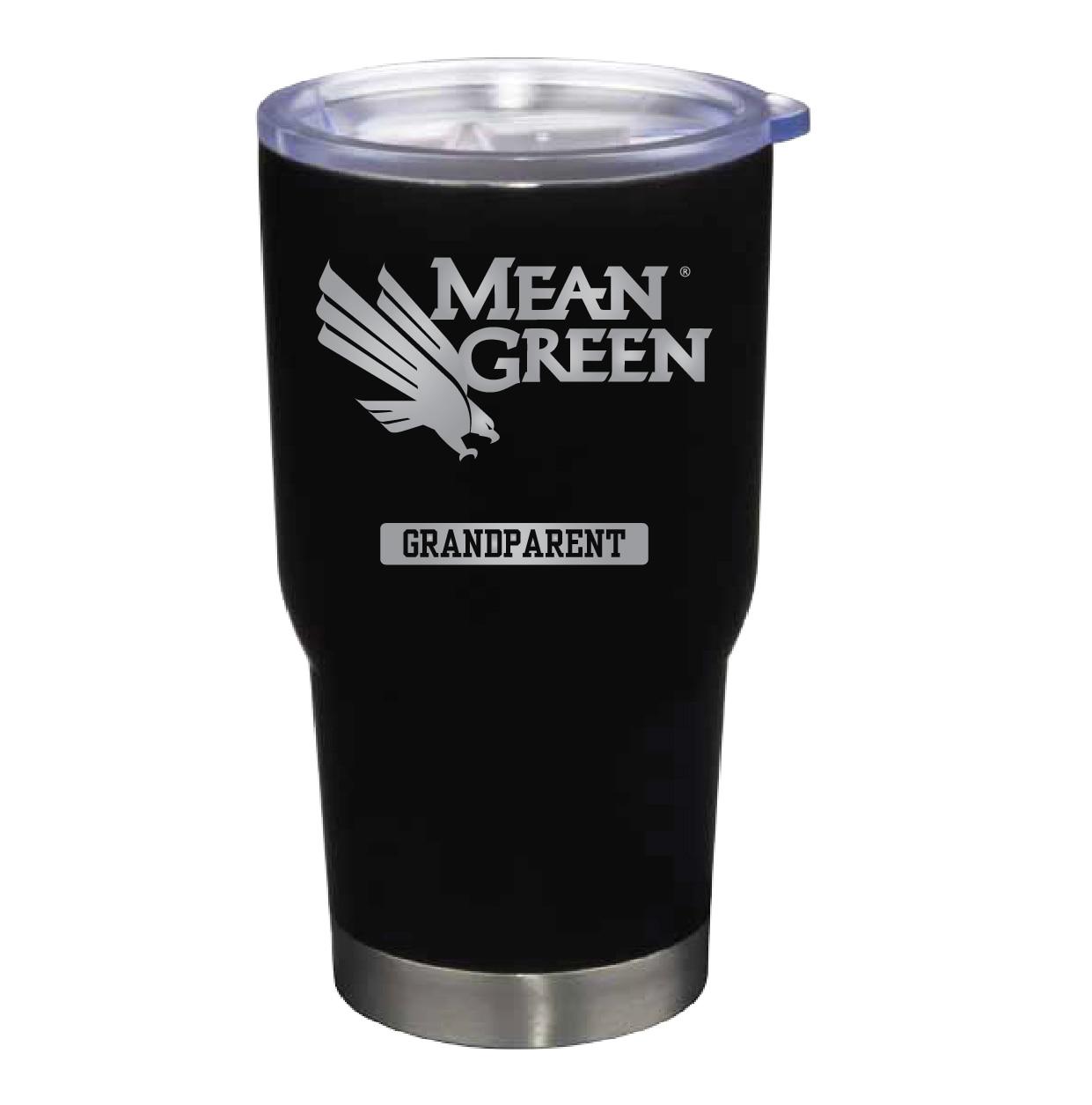 University of North Texas 22 oz Stainless Travel Mug GRANDPARENT