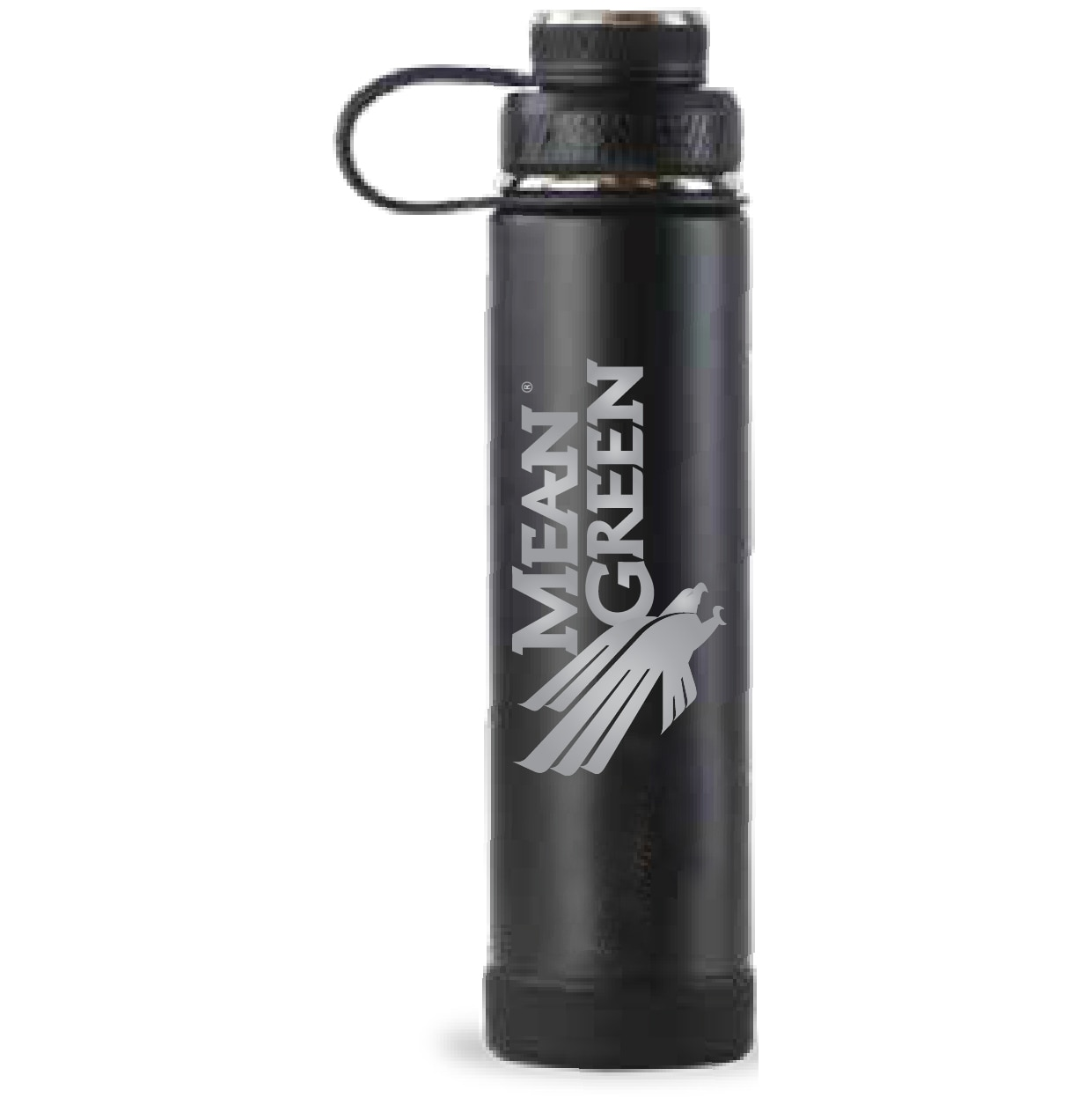 University of North Texas Ecovessel Boulder 24 oz Stainless Water Bottle