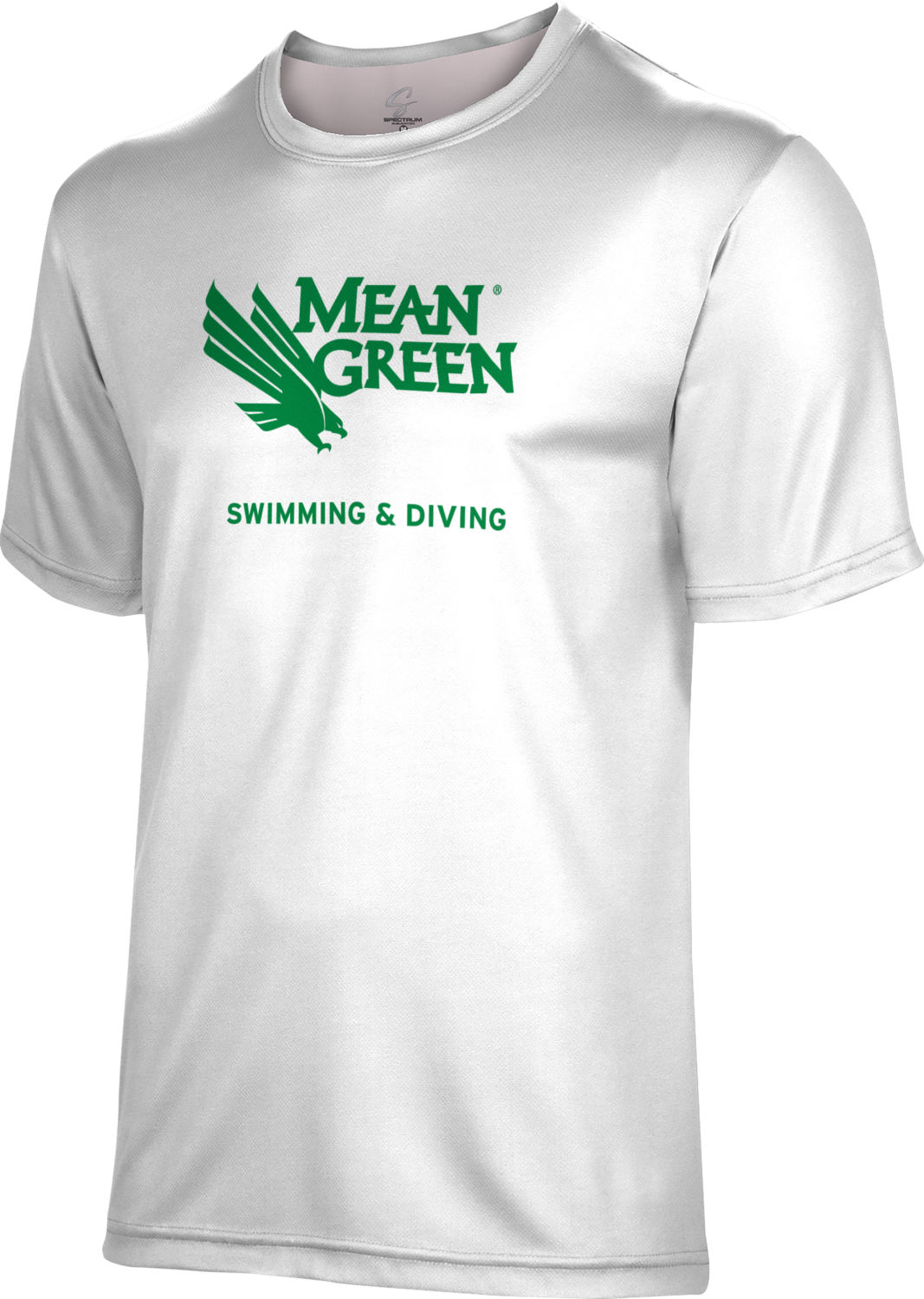 Spectrum Swimming & Diving Unisex 50/50 Distressed Short Sleeve Tee