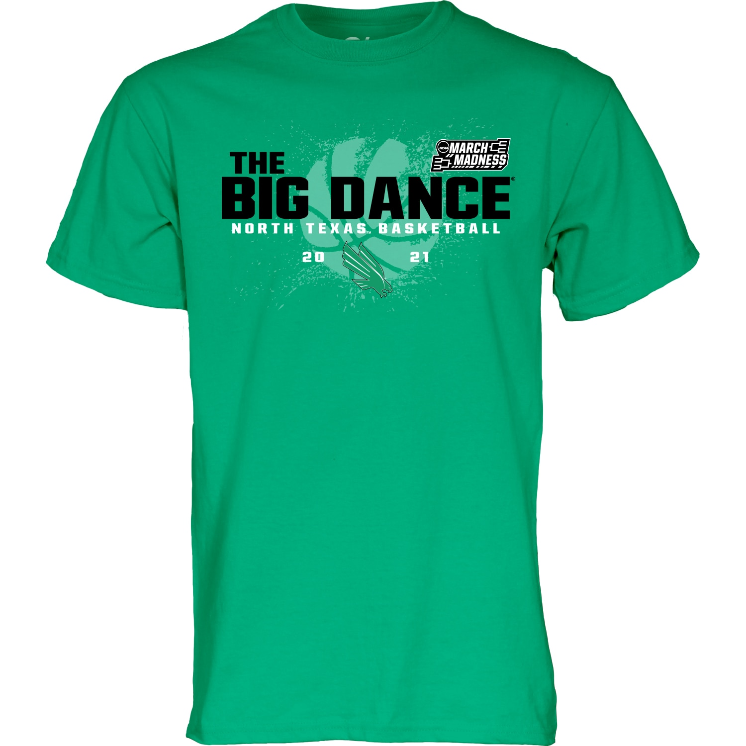 University of North Texas Blue84 2021 Road to March Madness T Shirt