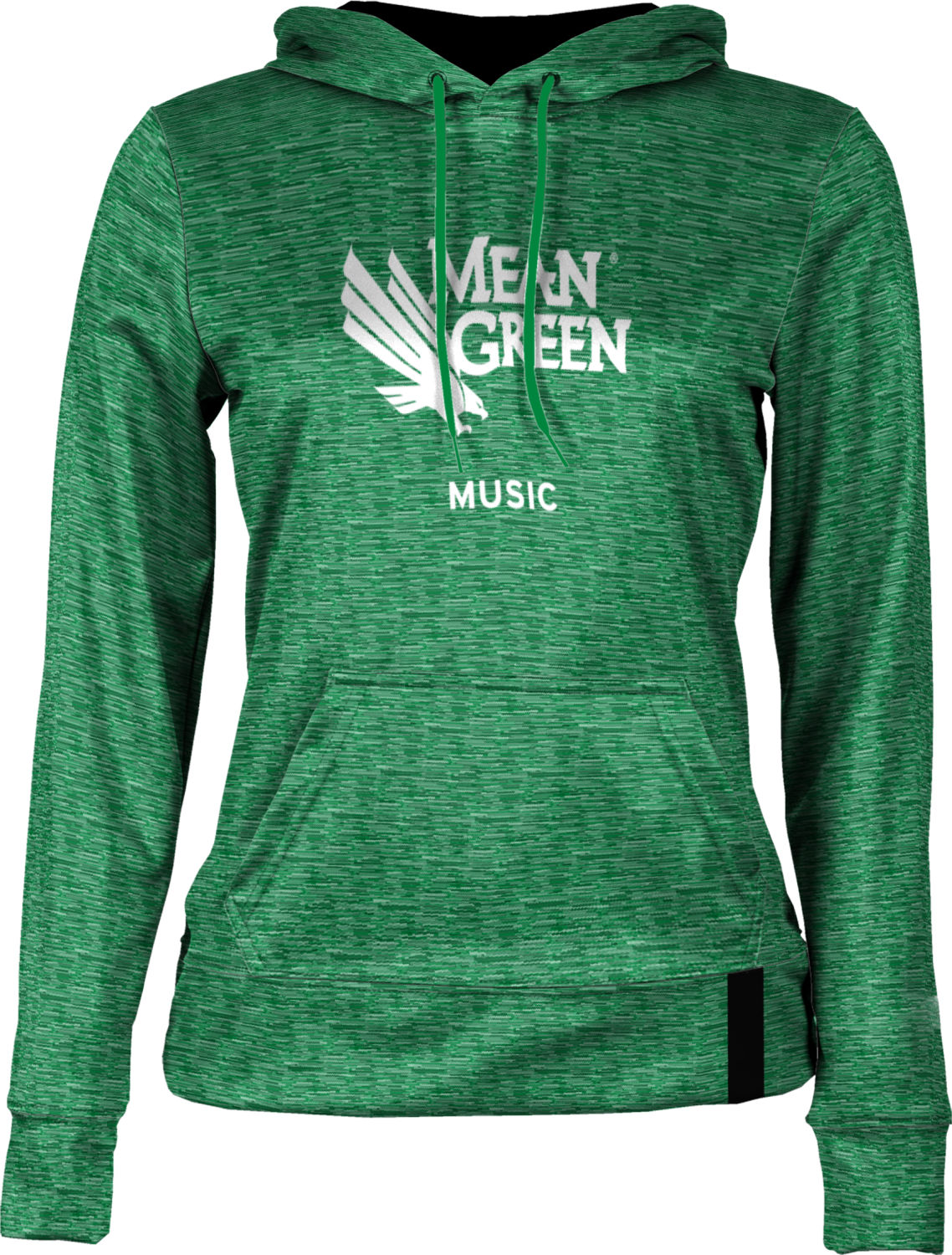Girl's ProSphere Sublimated Hoodie - Music