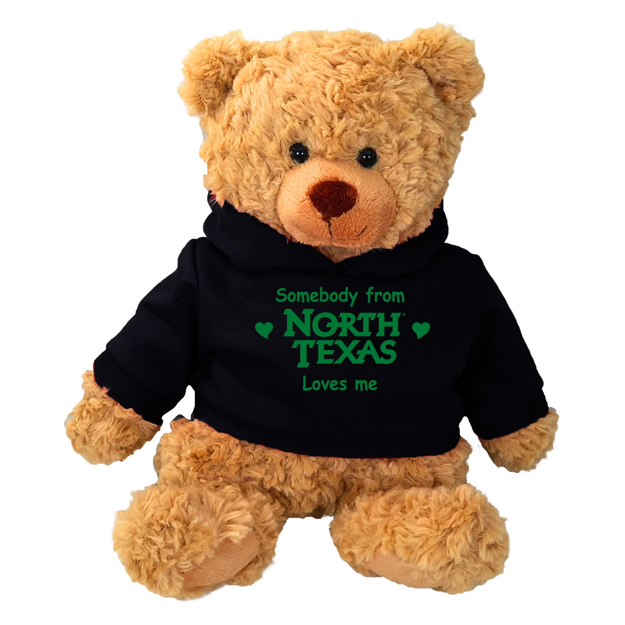 University of North Texas Cuddle Bear w/Hoodie