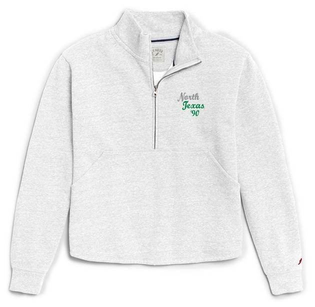 University of North Texas League Womens Victory Springs Zip Pullover