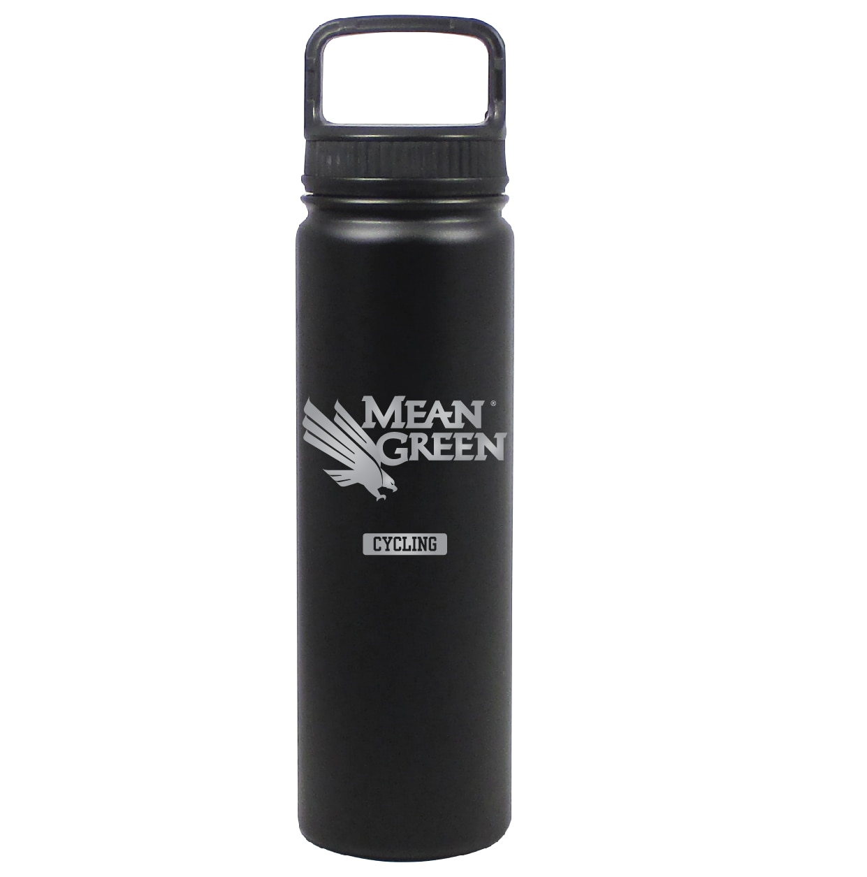 University of North Texas 24 oz Stainless Water Bottle CYCLING