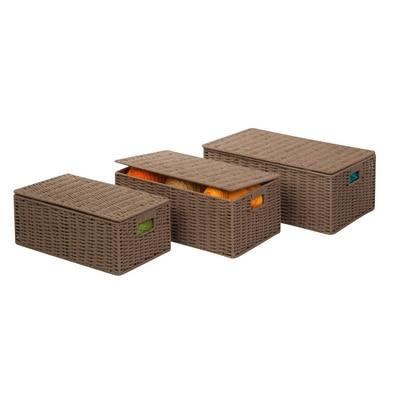 Paper Cord Baskets 3pc Set
