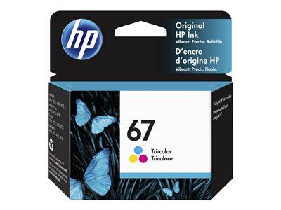 HP 67 Tricolor Ink Cartridge
