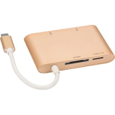 iHome 2Port USB-C Hub