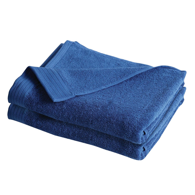 IZOD Everyday Blue 4 Pack Bath Towels