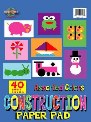 Paper-Art Assorted Color 40ct