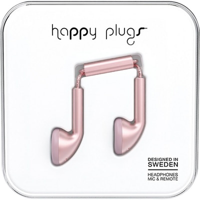 Happy Plugs Pink Gold Earbud