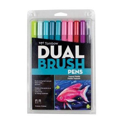 Dual Brush Set Tropical