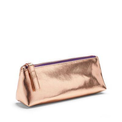 Poppin Copper  Purple Pencil Pouch